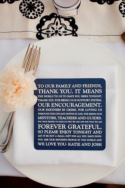 Wedding Thank you card!!