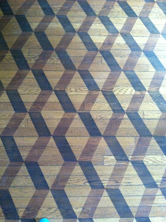 Wood floor design