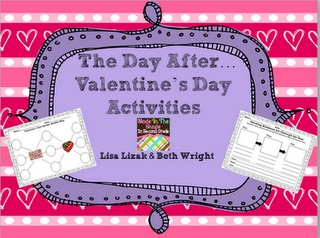 The Day After...Valentine's Day Activities {FREE}