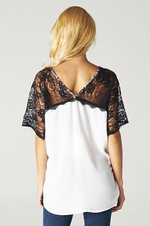 Lace Nelly Tunic//