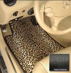 Cheetah Print Car Accessorie