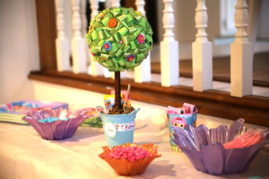 Decorations at a Lalaloopsy Party #lalaloopsy #partydecor
