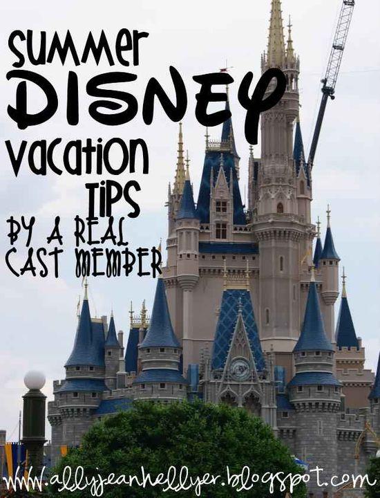 Summer Disney Tips