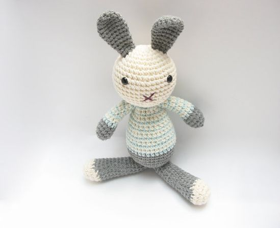 Bunny Marvin Crocheted Amigurumi Toy