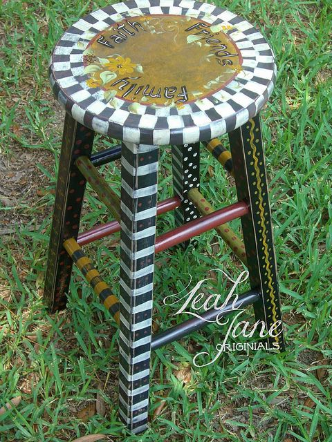 Funky Hand Painted Furniture
