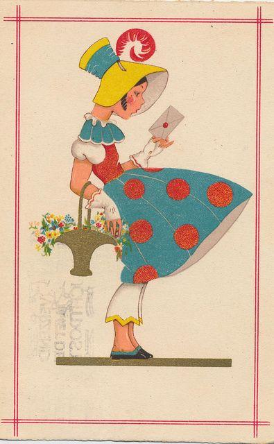 1933 by janwillemsen, via Flickr #art #illustration #fashion #vintage