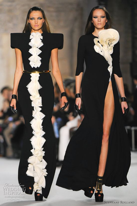 Stephane Rolland Spring 2012 Couture