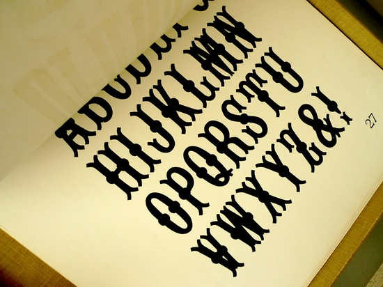 Rob Roy Kelly American Wood Type Collection #letterpress