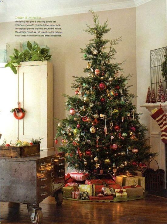 I like this Christmas tree.