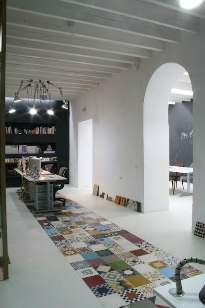 Patchwork floor design     #floor