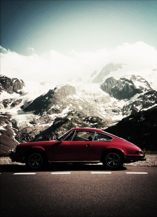 The infamous Porcshe 911. With its timeless design