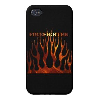 Tribal Firefighter Flames iPhone  Covers
