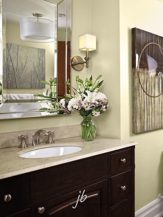 Briar Hill bathroom designed by Jennifer Brouwer Design. #jbd #intdesign #bathroom #customdesign #millwork