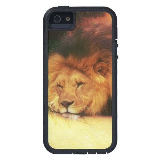 Napping King Of The Jungle Lion Wild Animal Photo iPhone 5 Cases. Also available on other cases Samsung Galaxy, iPhone 4, iPod, and more!