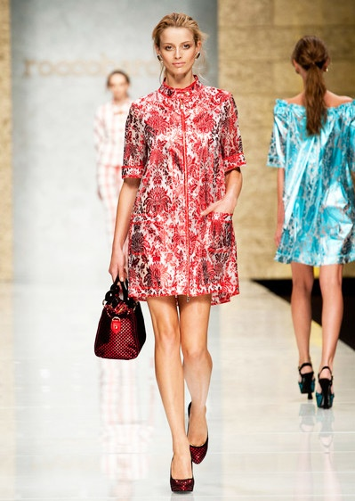 Electric Color Trend for Spring Summer 2013.  Roccobarocco Spring Summer 2013 #Trendy #Fashion #Trends