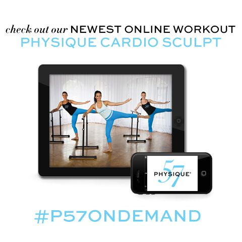 Check out this new online workout video - Physique Cardio Sculpt