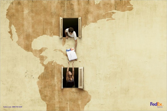 FedEx: USA - Brasil (DDB Brasil advertising agency)