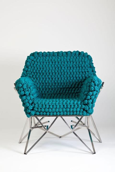 Furniture - Brazilian Designer Nicole Tomazi - gorgeous and ego green.  I have posted a cool footstool that would go awesome with this!
