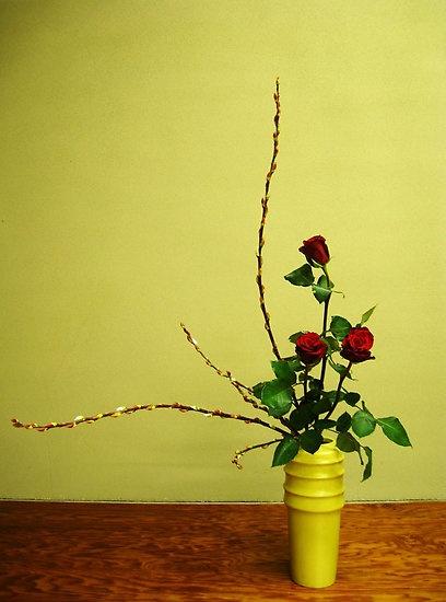 flower arrangement lines