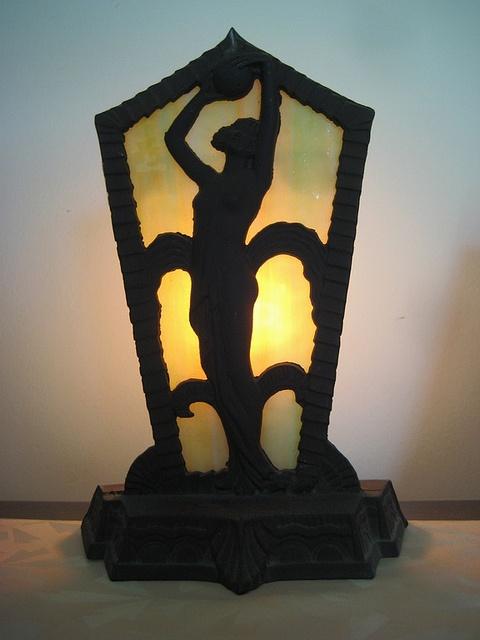 1920s Art Deco Radio Lamp. by worldsfair39, via Flickr