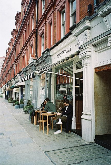 Monocle Café in London / photo by Mark Appleton