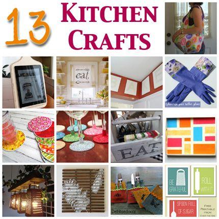 13 Kitchen Crafts You Will Love @Vanessa Mayhew & CraftGossip