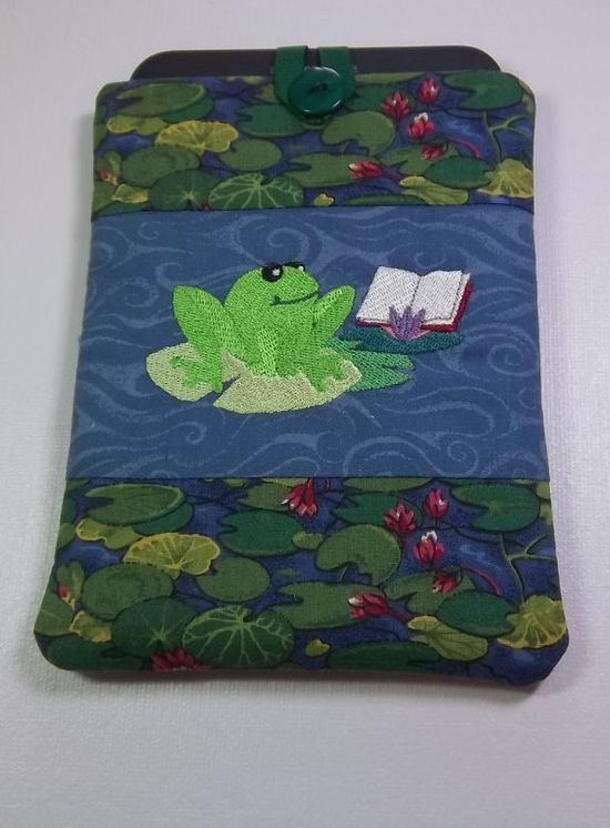 Kindle Cover by PatsysPatchwork on Etsy, $15.00