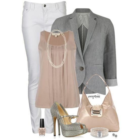 a9ca92a9505038056ba538ab66f8961b Monday morning Office Look by exxpress on Polyvore
