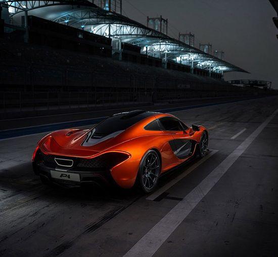 McLaren P1 Sports Car