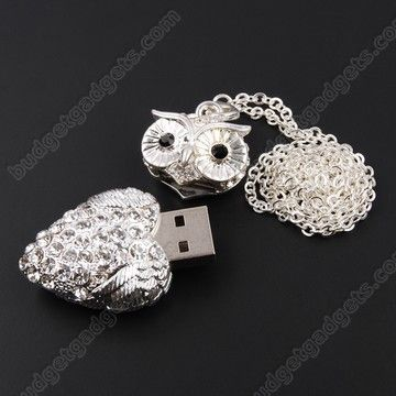 Owl Necklace Flash Drive