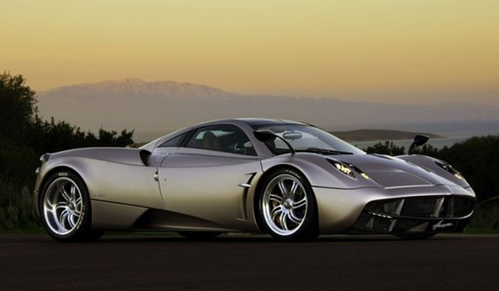 Pagani Huayra, the most beautiful car ever made.