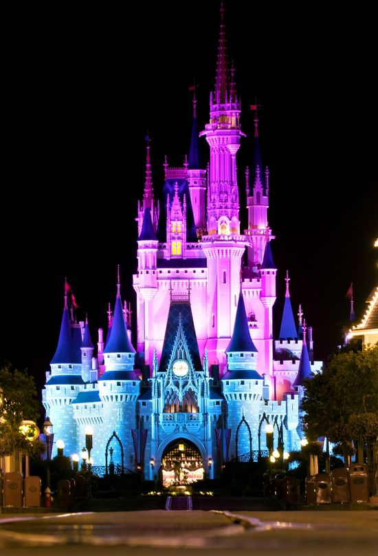 """Seriously, who doesn't love this view of Cinderella Castle? The """"big reveal"""" of Cinderella Castle is a defining moment of every trip!"""