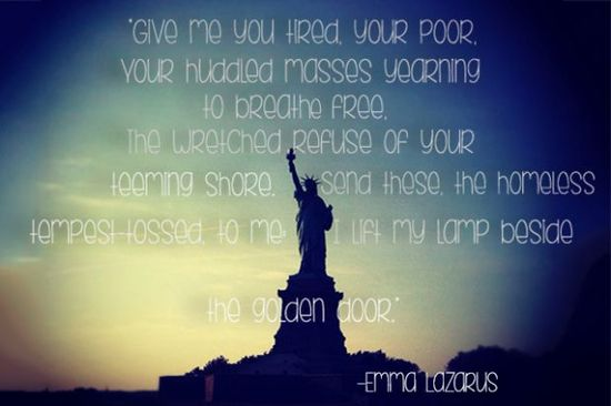 #Freedom #immigration #inspirational #quote