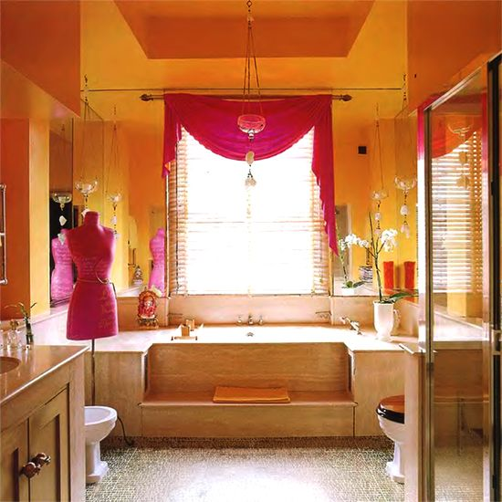 fancy bathroom interior design