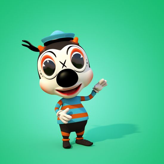 Bondzo Bee! 3D Character