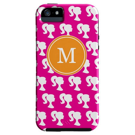 Silhouette Monogrammed iPhone 5 Case I
