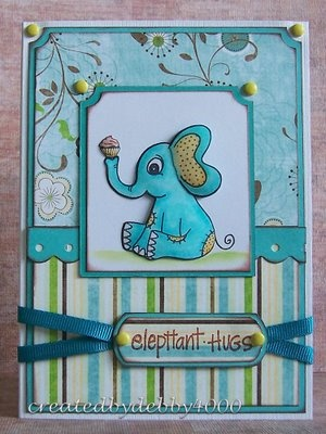 ELEPHANT LOVE Baby Cute!