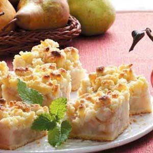 Old-Fashioned Pear Dessert Recipe