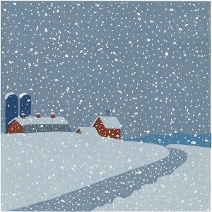 Sabra Field's Snow on Snow on Snow