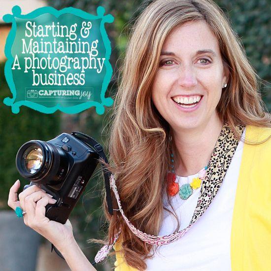 How to Start a Photography Business KristenDuke.com
