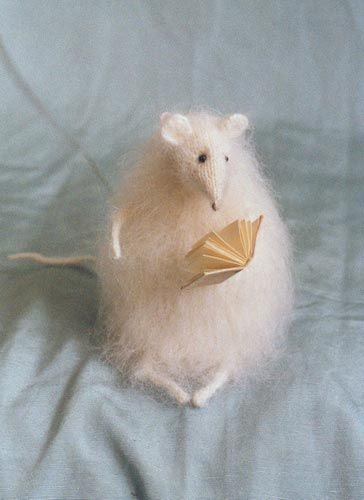 Stuffed Animals by Natasha Fadeeva - stuffed mouse