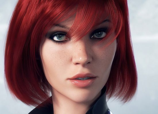 Great work here!  3D Female Character Design