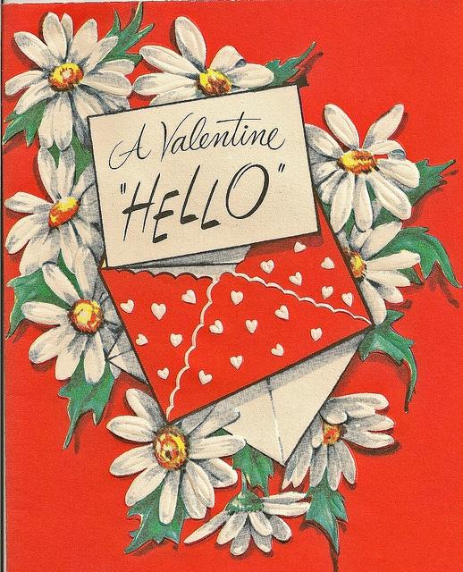 """A Valentine """"Hello"""""""