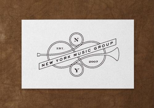 New York Music Group biz card