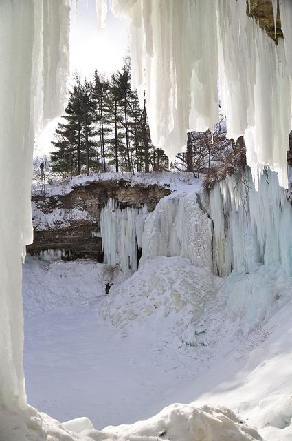Minnehaha Falls, MN - Close to Minneapolis where I lived for several years.