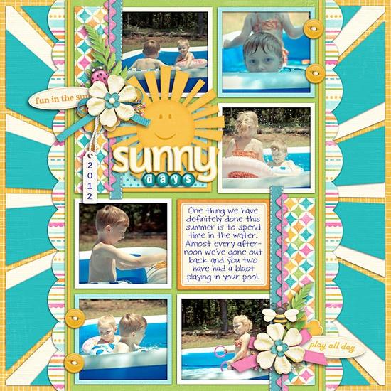 Sunny Days - Scrapbook.com