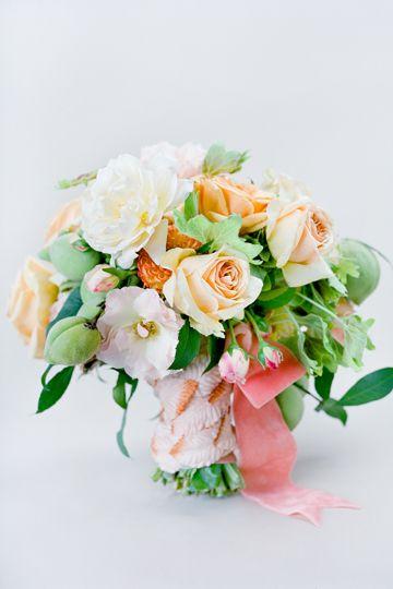 wedding bouquet from @iloveswmag. Photo: Jose Villa