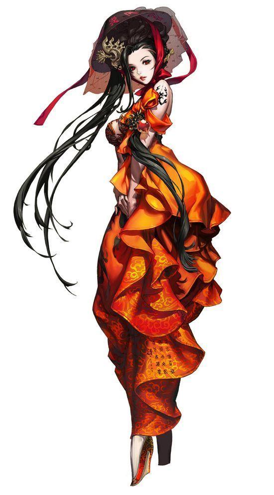 Blade & Soul - Female #3d character #3d char