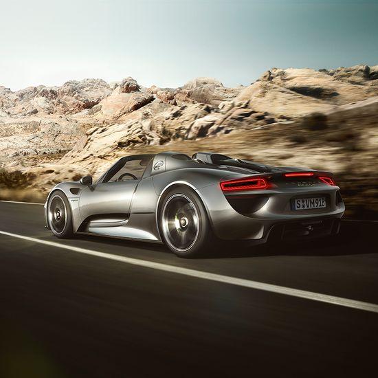 Rocket. Science. 918 Spyder. Porsche.