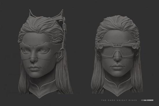 3D characters by U RI
